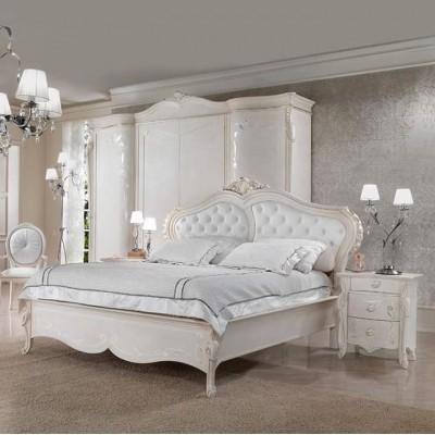 Classico. Camera da letto mod. Incanto Argento.