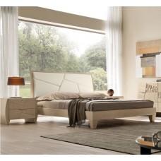 Moderno. Camera da letto mod. Decor. Noce Natura.